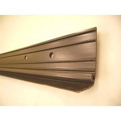 Joint supérieur de linteau pvc marron (vendu au mètre)