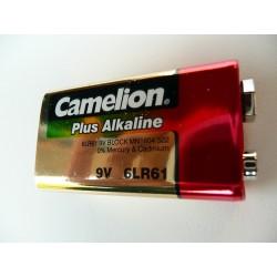 Pile 9 volts alcaline ref 6LR61