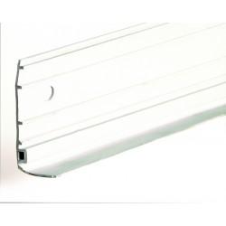 Joint supérieur de linteau pvc blanc - 319561 - L.5461 mm (vendu au mètre)