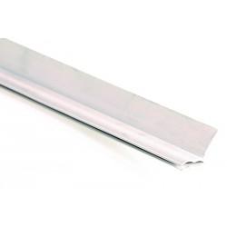 Joint de Cornière Verticale et Supérieur PVC Blanc 2057mm