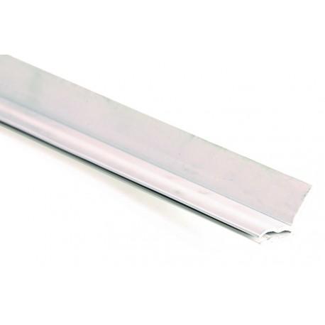 Joint de Cornière Verticale et Supérieur PVC Blanc 2510mm