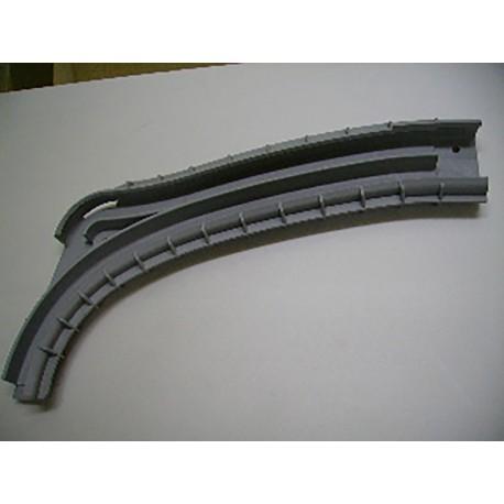 Courbe PVC 1P Droite